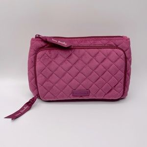 NEW Quilted Velvet Travel Pouch by Vera Bradley 🆕